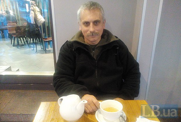 LB.ua беседовал с Лесником в декабре, когда он приезжал тренировать бойцов ДУК на базе <<Десна>>