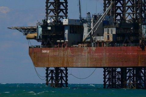 Прикордонники зафіксували бурові роботи РФ на морському шельфі України