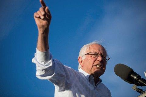 На американских праймериз демократов в штате Нью-Гэмпшир лидирует Берни Сандерс