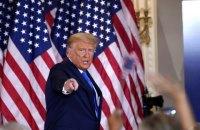 Американські телеканали зупинили трансляцію виступу Трампа після його заяви про махінації на виборах