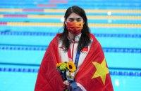 Китайська плавчиня виграла дві золоті медалі Олімпіади-2020 за годину