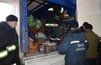Гуманітарна допомога з Казахстану прибула у Сєвєродонецьк