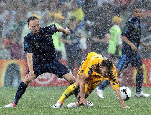 Франк Рибери был главным «замойщиком» сборной Украины
