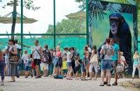 В Фельдман Экопарк построили самый большой в Украине летний вольер для обезьян