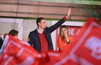 Зеленський привітав Санчеса з обранням главою уряду Іспанії