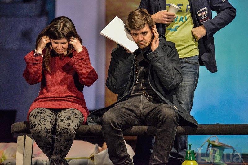 Виктор Рудь и Анна Пироли