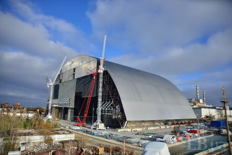 Новим саркофагом прикриють четвертий енергоблок ЧАЕС у листопаді