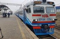 На Хмельниччині призупинили рух приміських поїздів