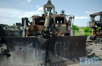 Разведка обнаружила танки и пушки боевиков возле Алчевска, Первомайска и Донецка