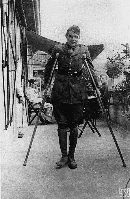 Ернест Гемінгвей під час Першої світової