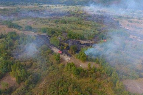 Режим ЧС из-за пожара на торфяных полях объявлен в Черкасской области
