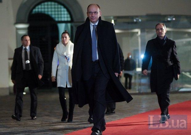 Председатель Совета министров Италии Энрико Летта