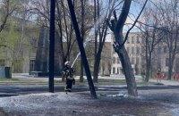 На Луганщині на території військової частини трапилася пожежа (оновлено)
