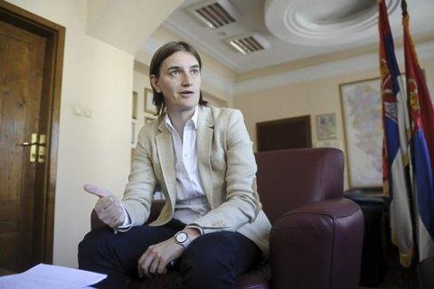 В лесбийской семье премьера Сербии родился ребенок