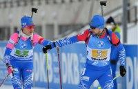 Драматической победой России завершилась эстафета на этапе Кубка мира по биатлону