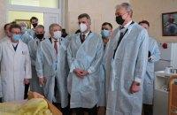 Президент Литви відвідав поранених бійців у Головному військовому клінічному госпіталі