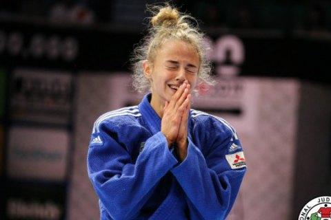 Сборная Украины по дзюдо завоевала одну медаль на чемпионате Европы