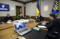 Порошенко: Украина выступает за прекращение огня возле Авдеевки и Донецка
