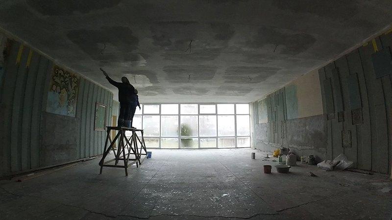 Помещение будущего зала