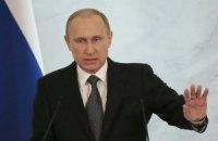 Путін вирішив утриматися від спеціальних заяв з приводу рубля