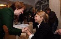 Тимошенко й Ештон обговорили роль ЄС у налагодженні ситуації в Україні