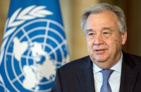 Генсек ООН написав листа Зеленському