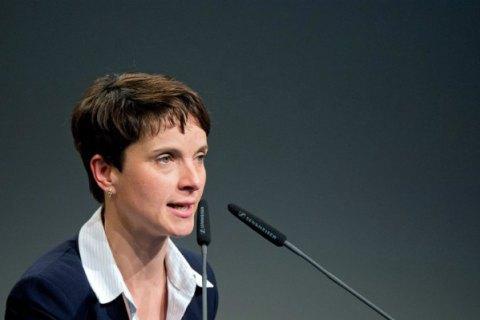 Лідер німецьких правопопулістів позбулася депутатського імунітету