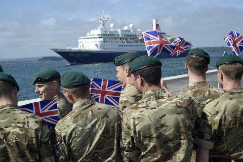 Британія готується відправити морських піхотинців у Перську затоку