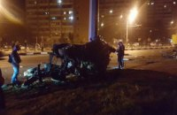 В Харькове трое студентов из Иордании разбились насмерть в ДТП