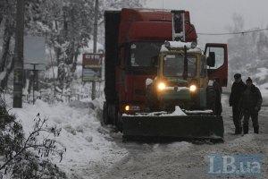 """МЧС ликвидировало 10 км затор на трассе """"Луганск-Донецк"""""""