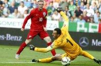 Руни вышел на 2-е место в бомбардирском рейтинге сборной Англии