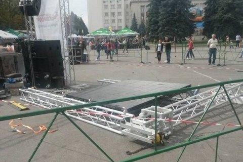 Турчинов припустив, що вибух біля Кабміну був спланованим терактом