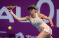 Свитолина уступила Квитовой на Qatar Open