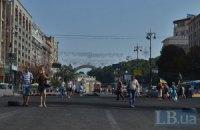 Движение на всех улицах у Майдана, кроме Институтской, восстановлено