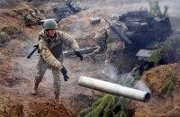 В ходе бригадных учений в Николаевской области загорелась боевая машина