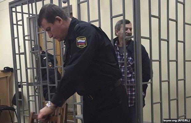 Ахтем Чийгоз во время заседания суда
