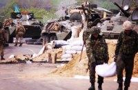 Украинские военные захватили все 10 блокпостов террористов в Славянске