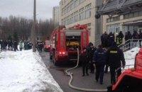 У Національному авіаційному університеті сталася пожежа