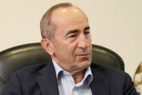 У Вірменії заарештували екс-президента Кочаряна