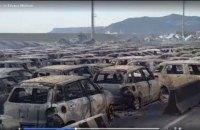В Италии из-за непогоды сгорели сотни автомобилей Maserati