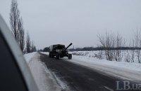 Миссия ОБСЕ зафиксировала артиллерию боевиков в Луганской области
