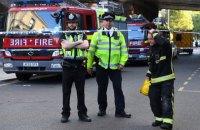 В ангаре лондонского аэропорта произошел пожар
