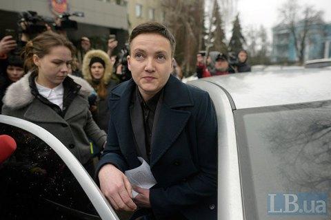 """Савченко в 2018 году получила 400 тыс. компенсации за """"депутатские расходы"""""""