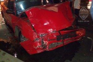 В Одессе участники ночных автогонок разбили четыре машины