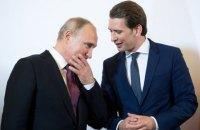 Путин попросил канцлера Австрии организовать встречу с Трампом