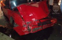 В Одесі учасники нічних автоперегонів розбили чотири машини