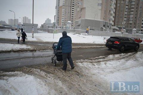 Завтра в Киеве похолодает до -2 градусов