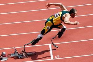 Олимпиада-2012: украинец проиграл бегуну-ампутанту из ЮАР