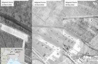 США показали новые снимки российских войск вблизи Украины