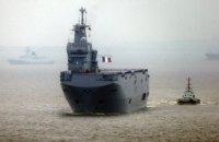 """Росія заявила, що Франція не зможе продати """"Містралі"""" Єгипту без її дозволу"""